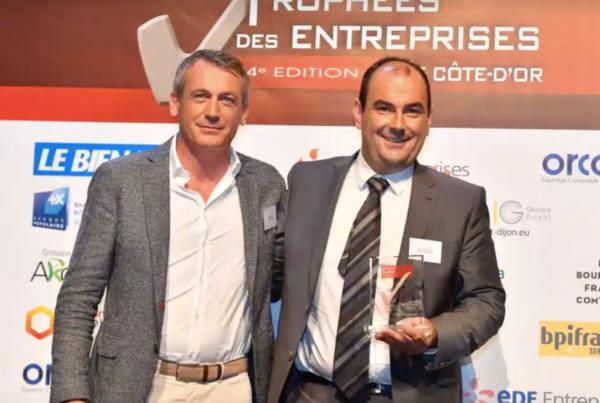 Ascensoriste numéro 1 Dijon - Trophée TPE de l'année