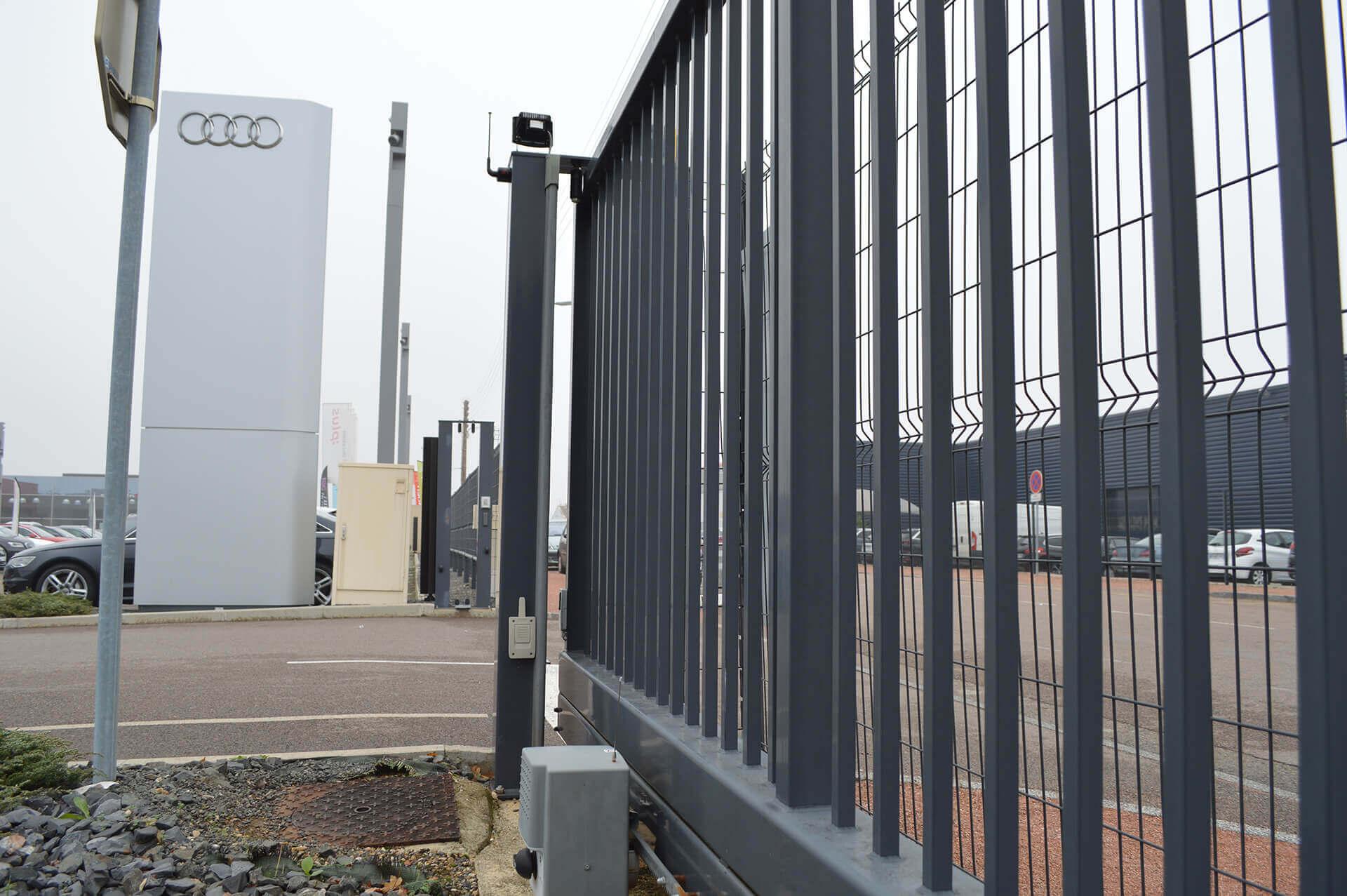 Maintenance fermeture automatique dijon concession automobile - EM Ascenseurs spécialiste